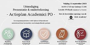 Presentatie Actieplan Academici PO